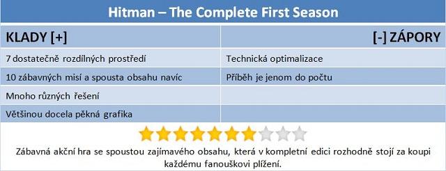 Recenze Hitman: DVD uzavírá vydařenou první sérii