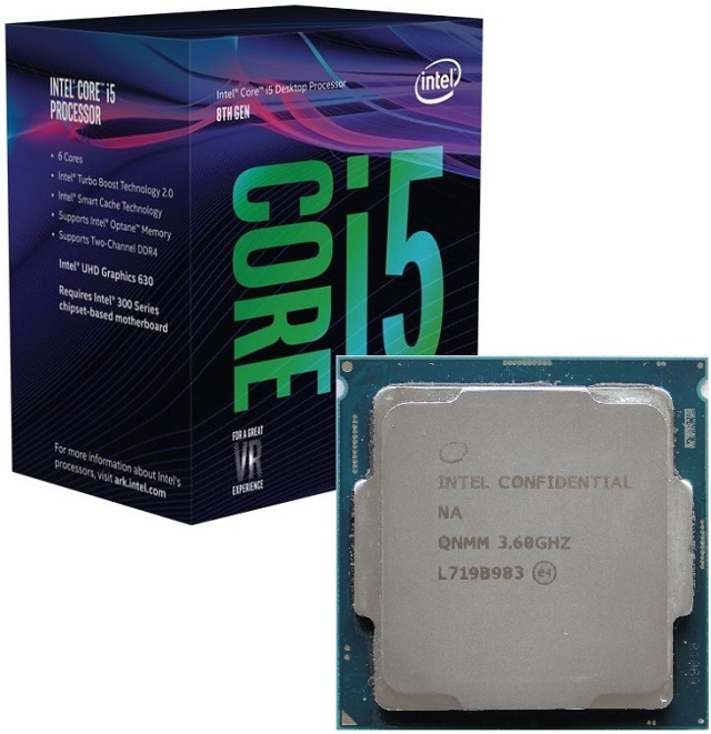 Core i5-8600K s taktem 4,3 GHz (Coffee Lake) v testu