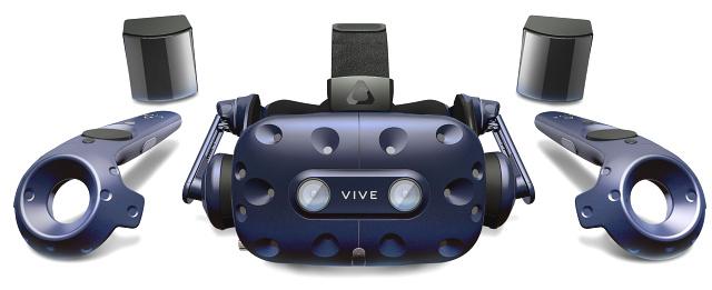 Nová sada HTC Vive Pro - komplet zatím jen na obrázku