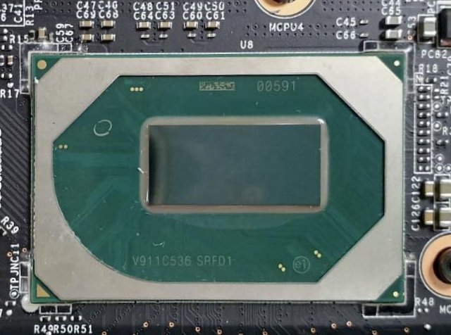 Procesor Comet Lake Core i9–10980HK