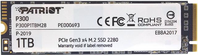 Disk P300 zepředu
