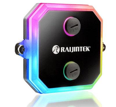 Raijintek CWB-RGB: blok vodního chlazení CPU s RGB nasvícením