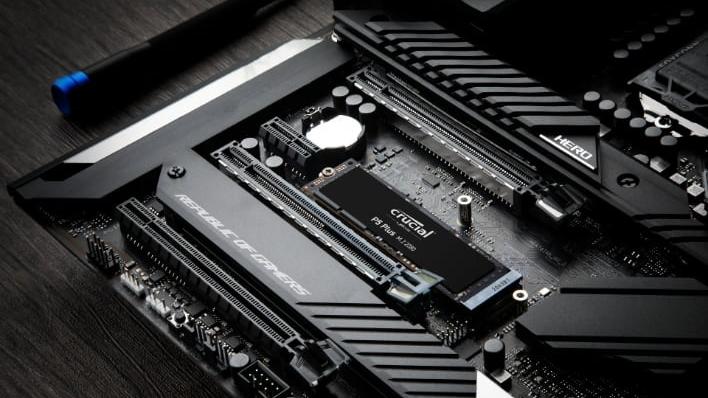 Crucial uvádí SSD P5 Plus s rozhraním PCIe 4.0