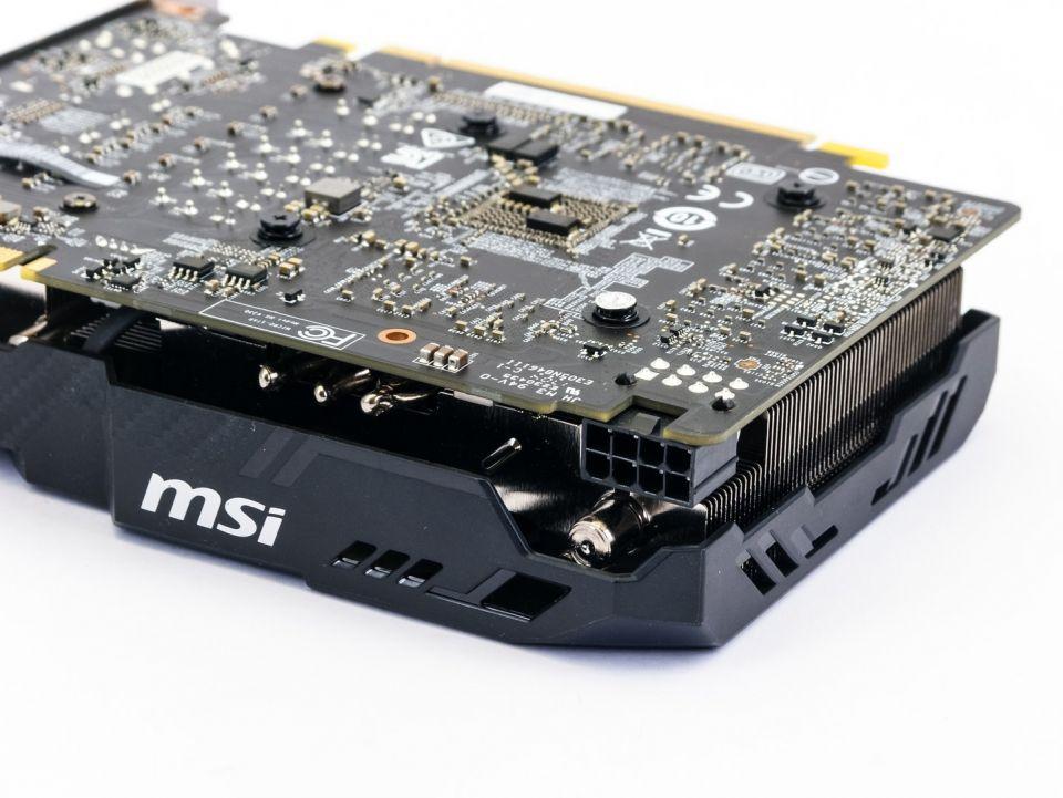 MSI GF GTX 1070 Aero ITX OC: velká karta v malém balení