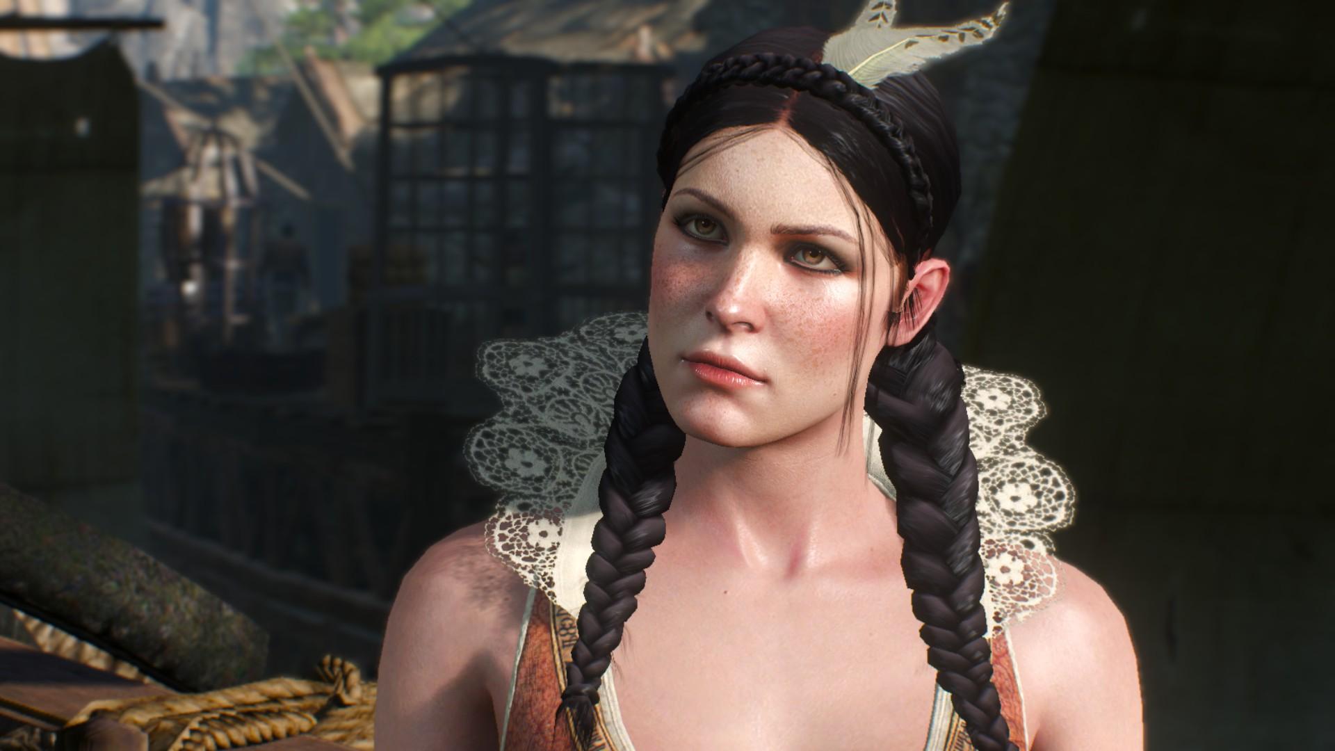 Čarodějka v plné kráse.