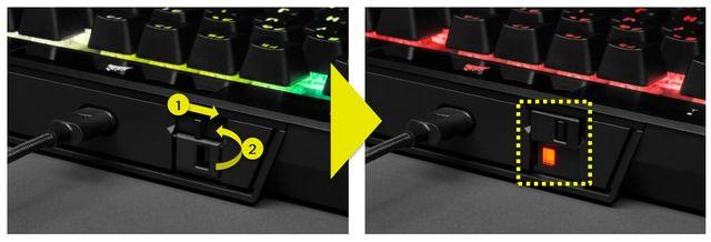 Corsair 70 TKL RGB - kompaktní herní mechanika na cesty