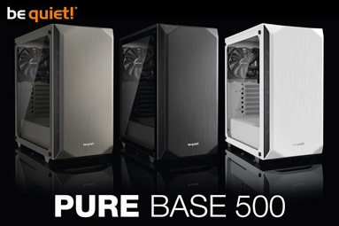 be quiet! Pure Base 500 – kvalitní skříň za přijatelnou cenu