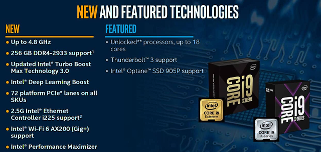 Intel Core i9-10900X: Deset jader na taktu 4,9 GHz