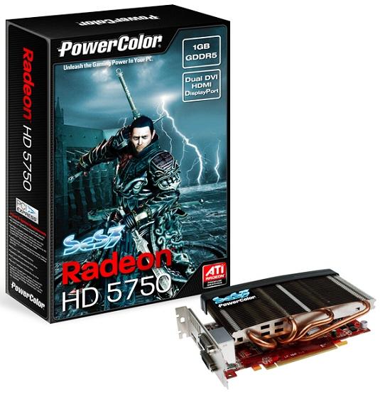 Radeon HD 5750 s pasivním chlazením