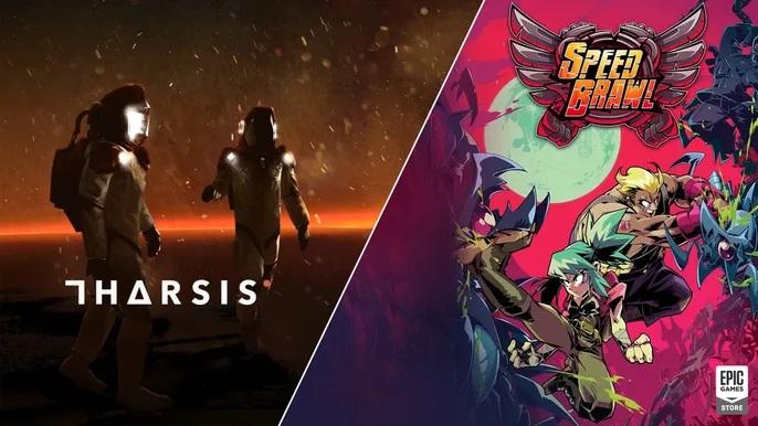 Epic rozdává zdarma hry Speed Brawl a Tharsis
