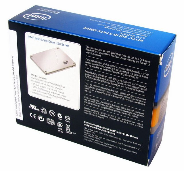 SSD Intel 520 – SandForce s pětiletou zárukou