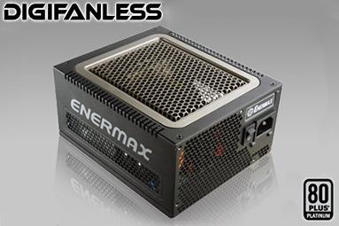 Enermax Digifanless - nejvýkonnější digitální pasivní zdroj