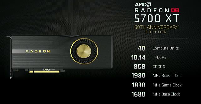 Radeon RX 5700 se původně jmenoval RX 690