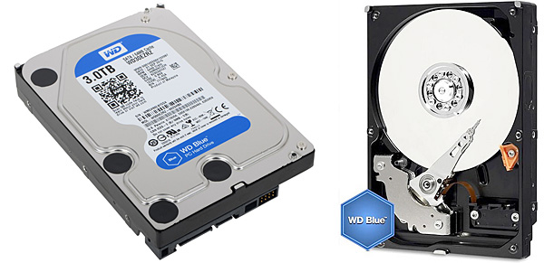 Pevný disk Western Digital Blue 3 TB