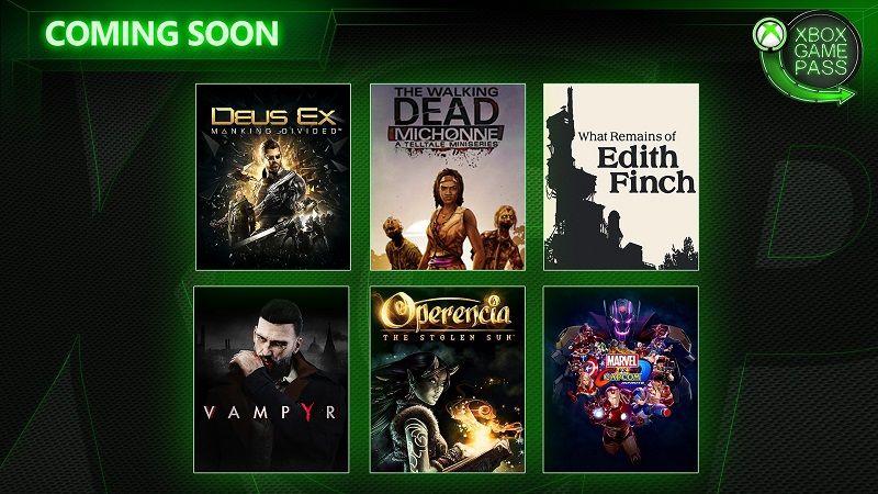 Microsoft obohacuje Xbox Game Pass o dalších šest her