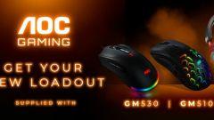 AOC představuje nové herní myši GM510 a GM530