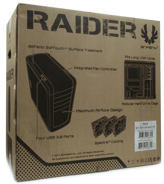 BitFenix Raider – poctivý kus skříně za dobré peníze