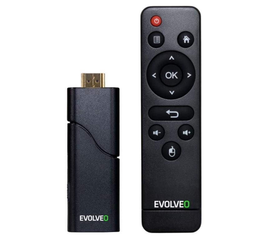 Chytrá tyčinka Evolveo MultiMedia Stick Y2 se zapojuje přímo do HDMI