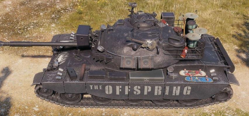 Ve World of Tanks se znovu objevuje kapela The Offspring