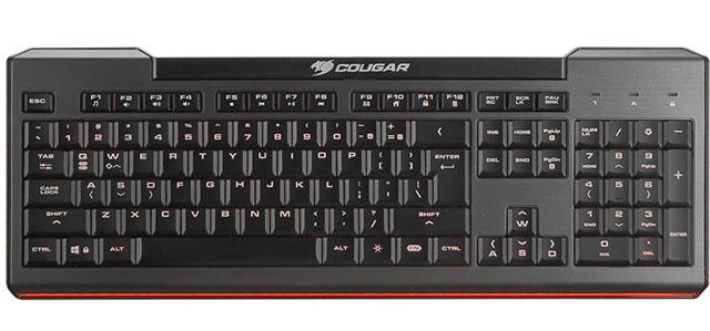 Společnost COUGAR představila svoji novou nízkozdvihovou herní klávesnici 200K