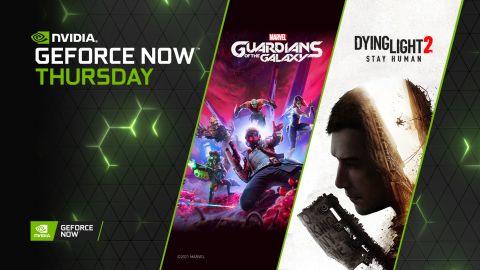 GeForce NOW přivítá Dying Light 2: Stay Human i Marvel's Guardians of the Galaxy hned po vydání