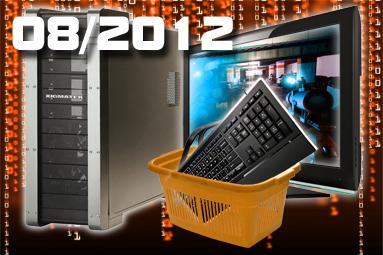 Doporučené sestavy a monitory – srpen 2012