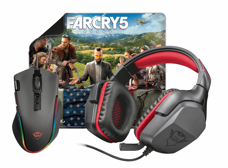 Soutěžte s Trust o hráčský balíček s Far Cry 5 a o další ceny