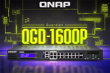 Domácí síťování: Firemní Switch-o-NAS QNAP QGD-1600P