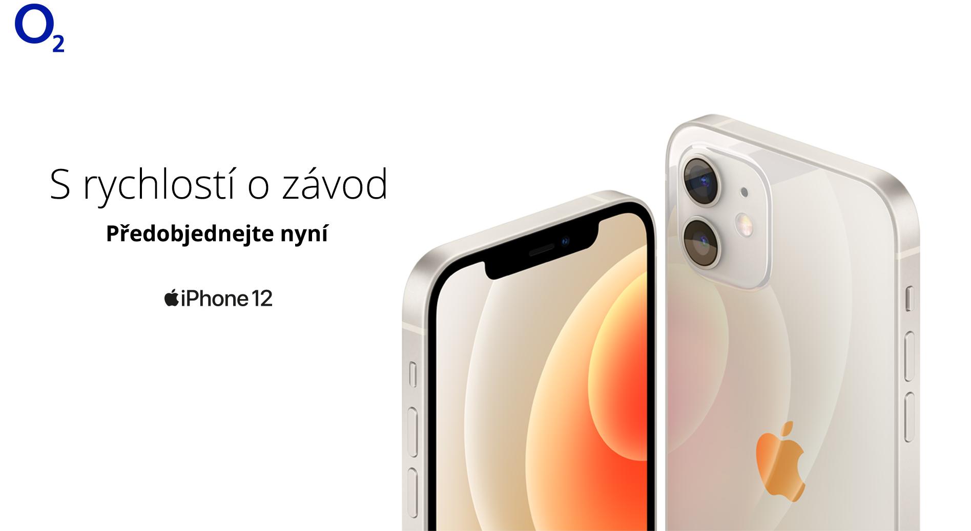 O2 zahájilo ppředobjednávky nových iPhonů 12