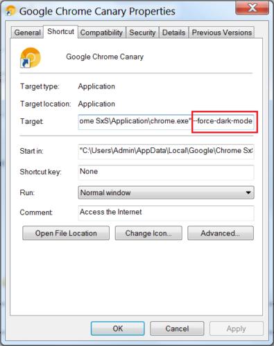 Nový Chrome pro Windows 10 přináší tmavý režim
