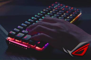 ASUS ROG Falchion - herní mechanická klávesnice do kapsy