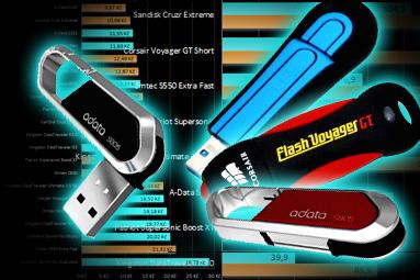 Velké srovnání 32GB flash disků – USB 3.0 dotahují cenou 2.0