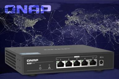 Zrychlete jednoduše stávající síť. 2,5 Gbps se switchem QNAP