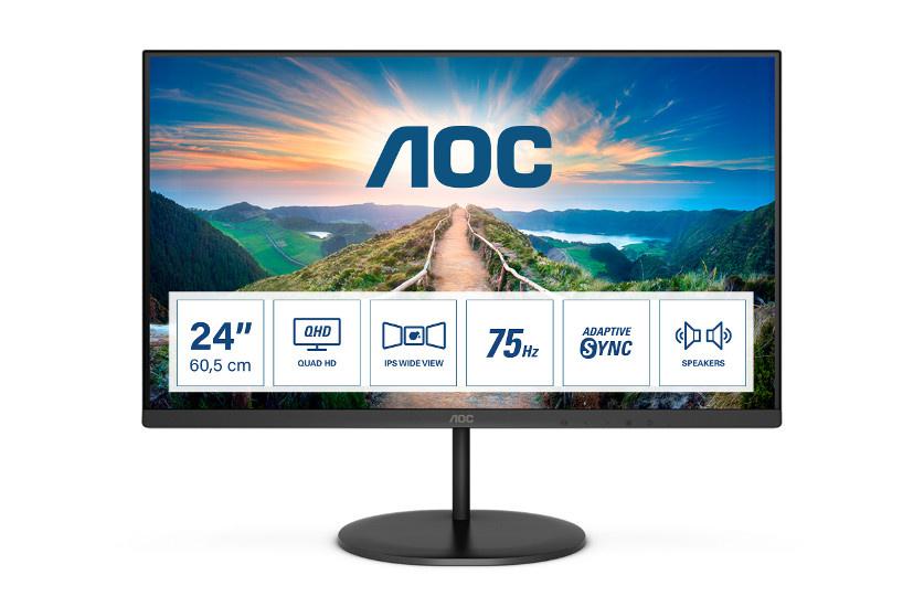 AOC představuje nové IPS monitory se 4K a Adaptive-Sync