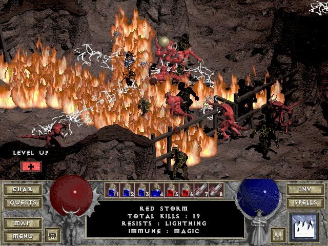 Zahrajte si v prohlížeči nesmrtelnou klasiku Diablo!