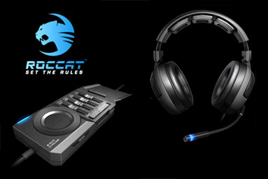 Roccat KAVE - opravdový 3D zvuk nejen pro hráče