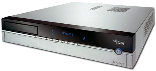 Fujitsu-Siemens Scaleo E - elegantní PC do obýváku