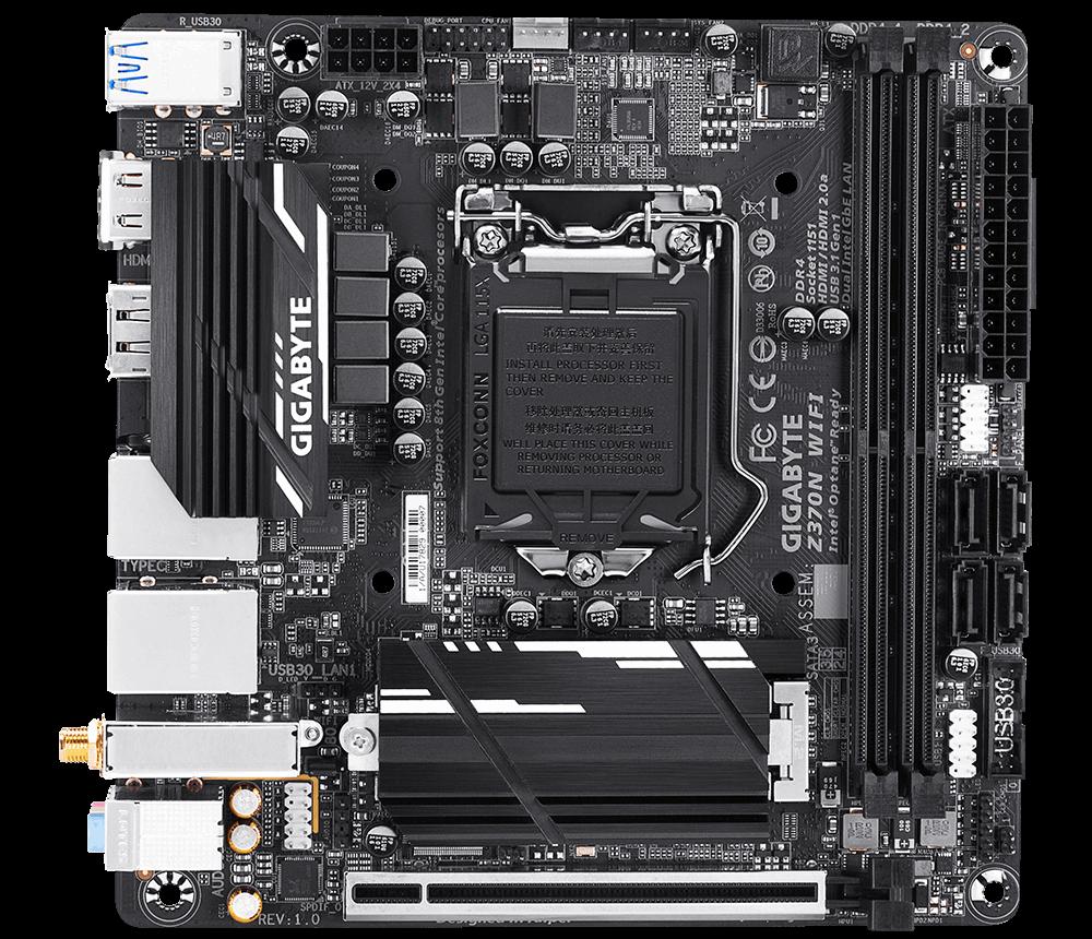 Gigabyte představil vybavenou mini-ITX desku vhodnou pro přetaktování