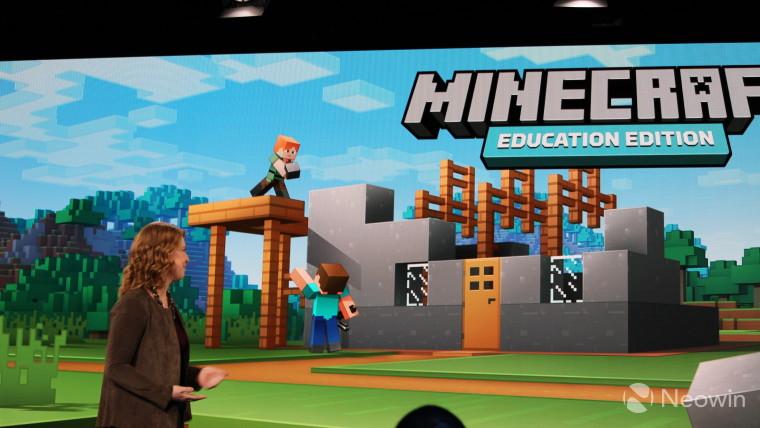 Minecraft Education Edition je dostupný pro počítače s Chrome OS