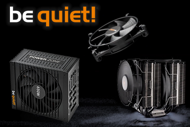 Soutěžte s be quiet! o špičkový zdroj, chladič a ventilátory