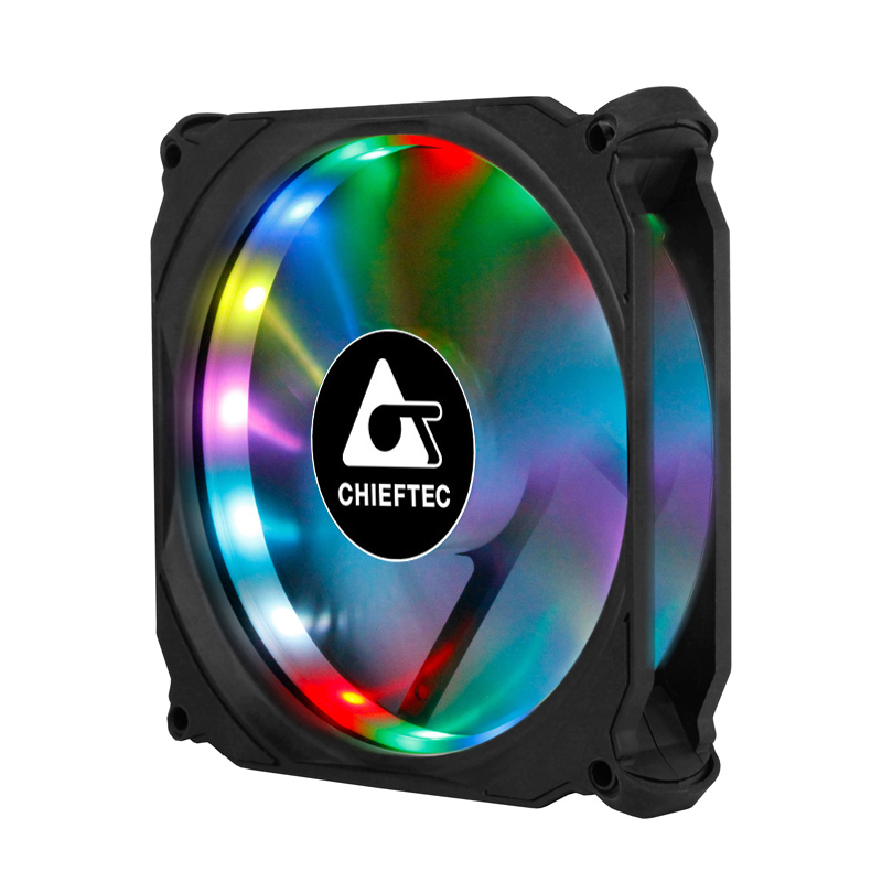 Chieftec CF-3012-RGB - sada tří RGB větráků s dálkovým ovládáním [SOUTĚŽ]