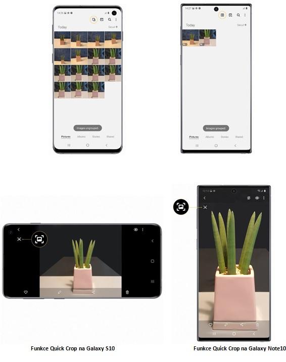 Galaxy S10 a Note 10 dostávají  One UI 2.1 s velkým vylepšením fotoaparátu