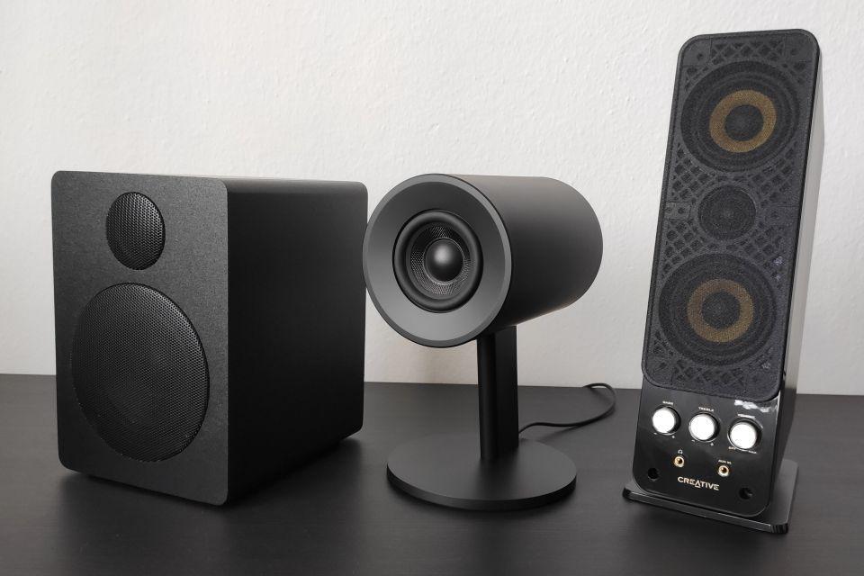 Test reproduktorů k PC  – muziko hraj!