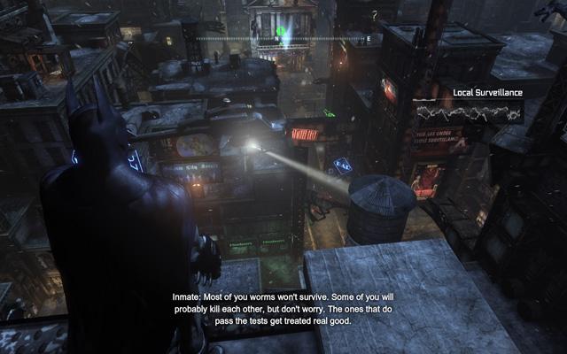 Batman: Arkham City — podívejte se na PhysX a DX11 v akci