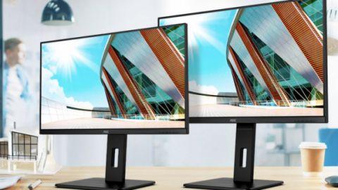 AOC uvádí na trh nové 75Hz monitory s chytrým připojením USB-C