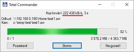 Wi-Fi 6 připojená přes 2.5 GbE