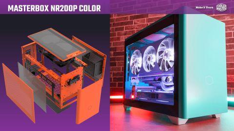 Test skříně Cooler Master MasterBox NR200P Color