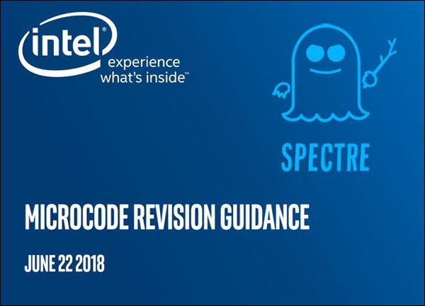 Intel zpřístupnil novou aktualizaci mikrokódu proti Spectre pro starší architektury