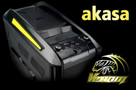 Akasa VenomToxic – hodně zvláštní skříň, ale povedená!