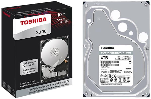 Pevný disk Toshiba X300 - 4 TB